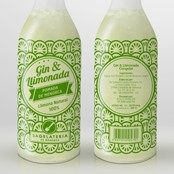 Diseño etiqueta botella /<br> Design labels bottle